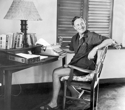 Ian Fleming (Photo by Hulton Archive/Getty Images)